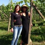 Two Ladies in Vineyard