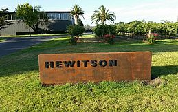 Hewiston Sign